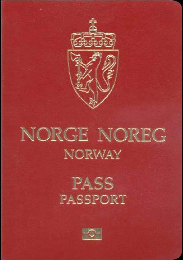 Fake Norway Passport