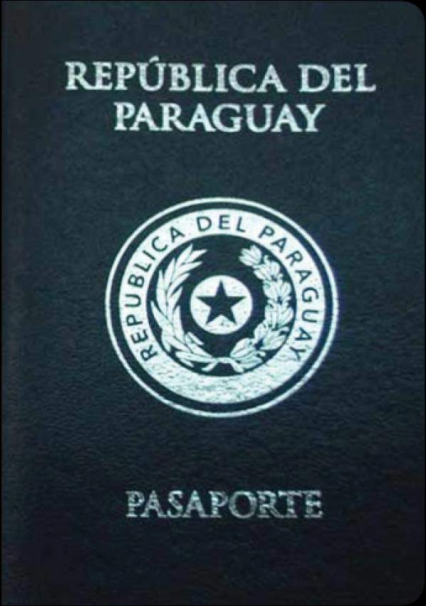 Fake Paraguay Passport