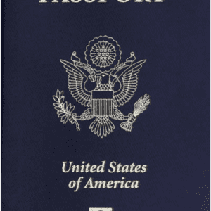 Real Passport of USA