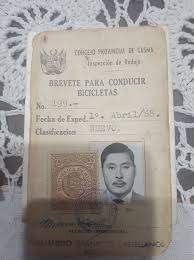 Peru Fake Driver's License for Sale