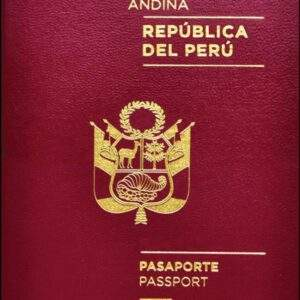 Fake Peru Passport