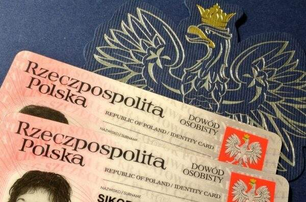 Fake ID Card of Poland