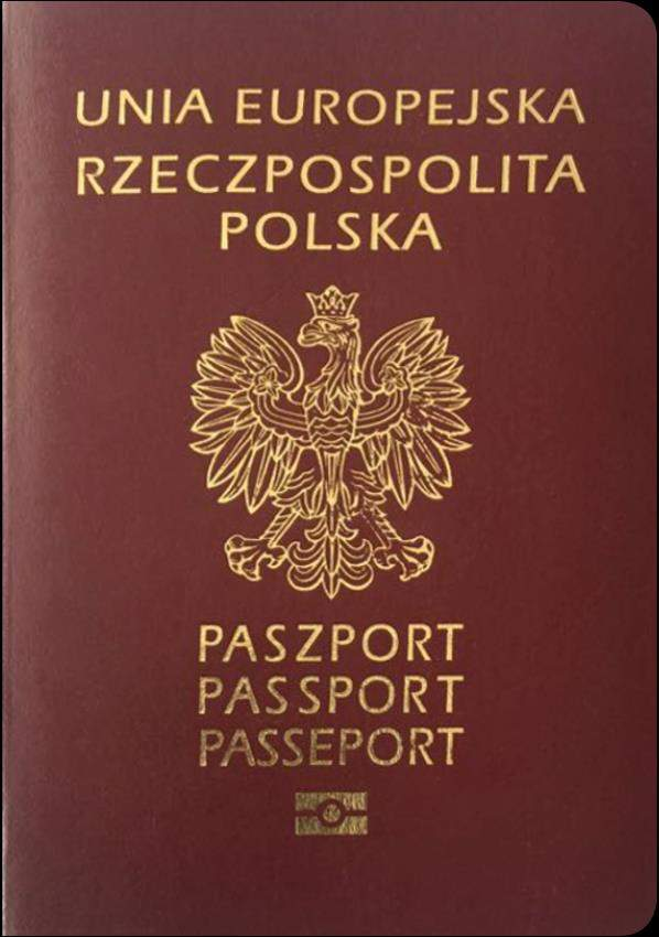 Fake Polish Passport