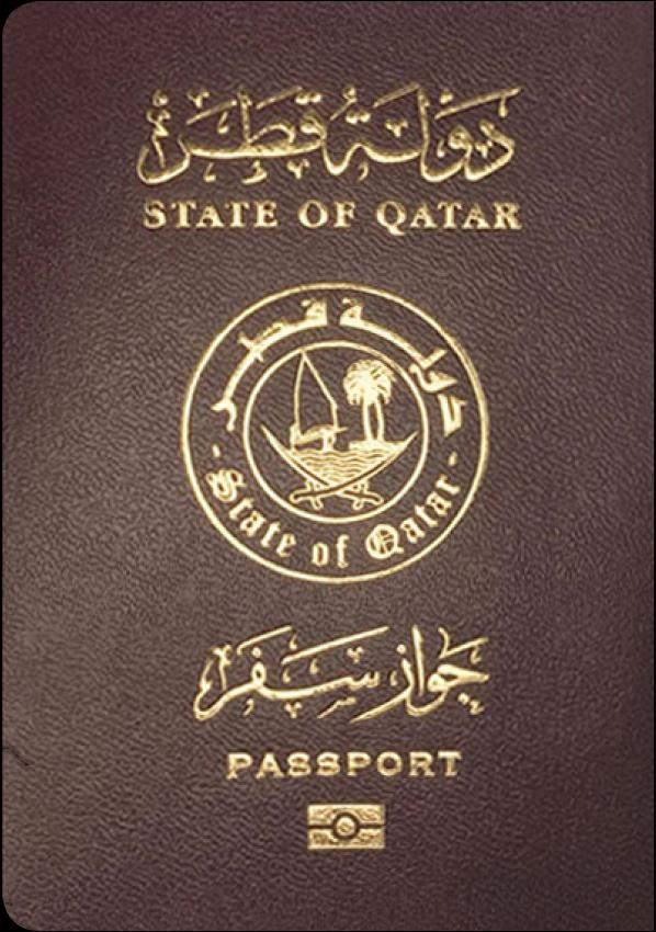 Fake Qatari Passport
