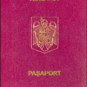 Fake Romanian Passport