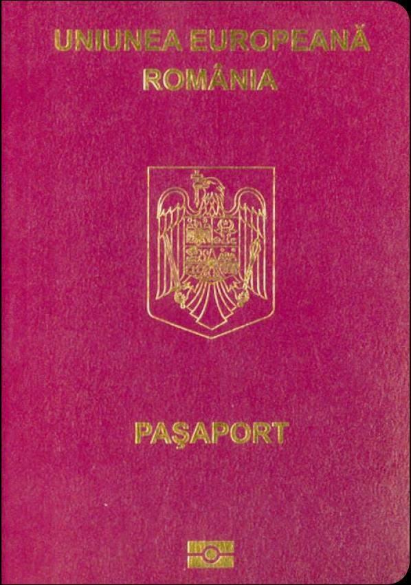 Fake Romanian Passport