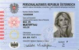 Fake Austria ID cart for sale