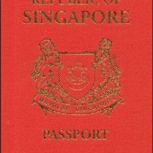 Real Singapore Passport