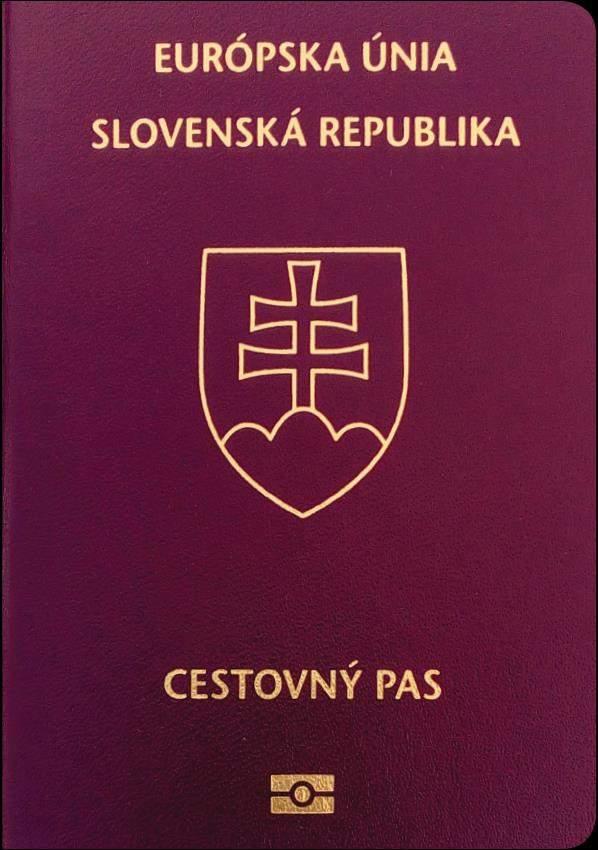 Real Slovakia Passport