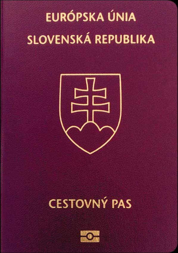 Fake Slovakia Passport