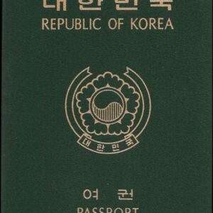 Buy Real Passport of South Korea