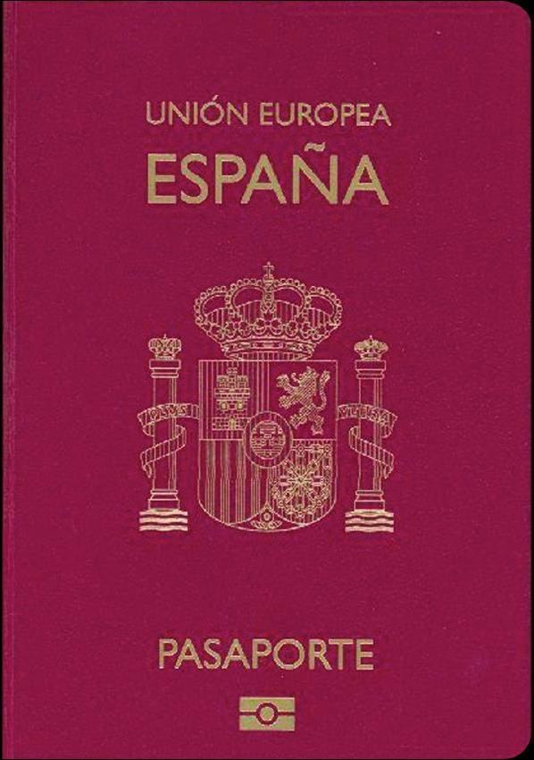 Fake Spanish Passport