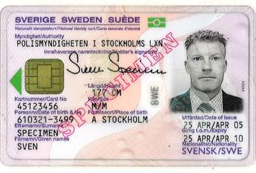 Buy Fake ID Card of Sweden