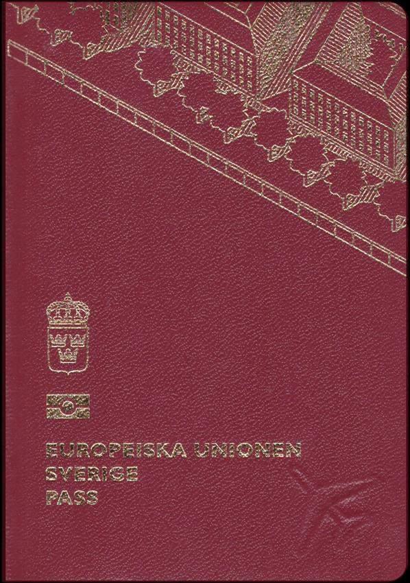 Real Swedish Passport