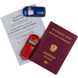 Thailand Fake Driver's License for Sale