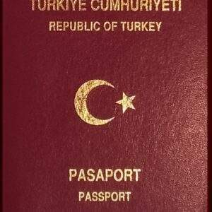 Real Turkish Passport
