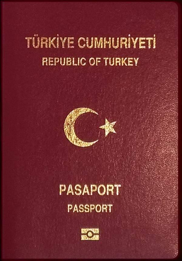 Real Turkish Passport