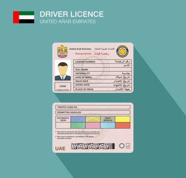 UAE Driver's License