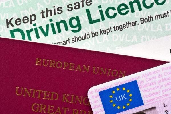 United Kingdom Fake Driver's License for sale