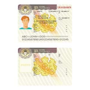 ID Card of United Kingdom