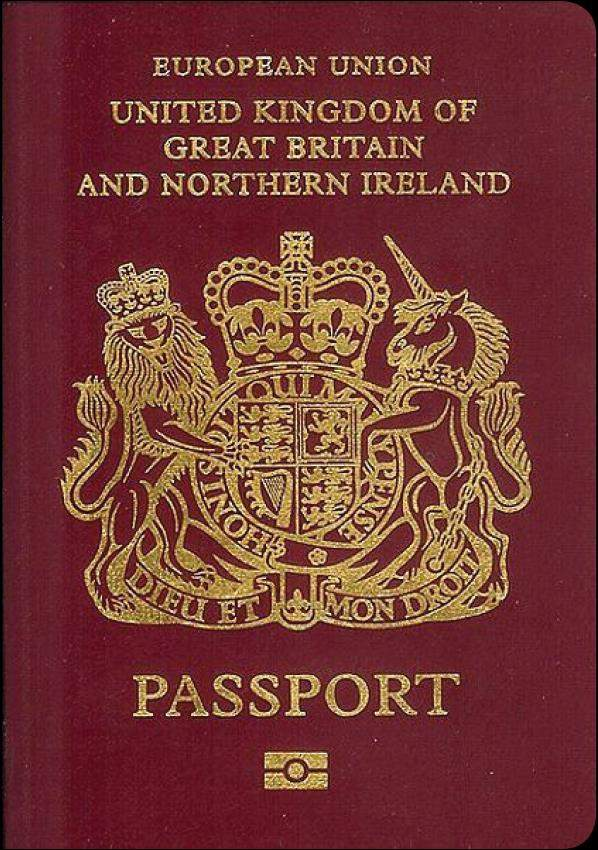 Fake UK Passport Online