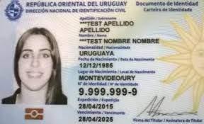 Buy Fake ID Card of Uruguay