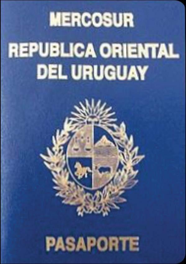 Fake Uruguay Passport