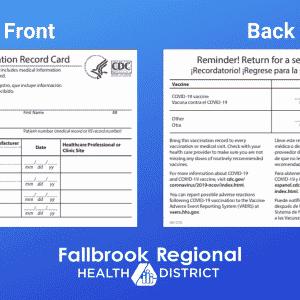 Buy COVID-19 Vaccination Record Card
